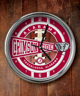 Alabama Chrome Clock