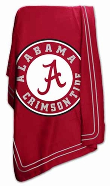 Alabama Classic Fleece Throw Blanket