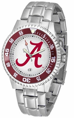 Alabama Competitor Men's Steel Band Watch