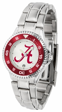 Alabama Competitor Women's Steel Band Watch