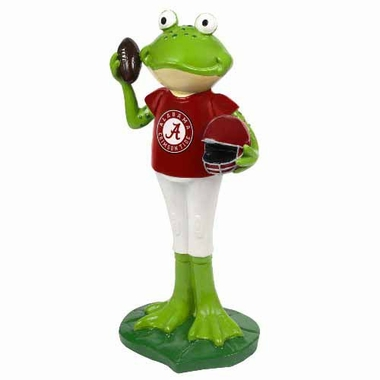 Alabama Crimson Tide 12 Inch Frog Player Figurine