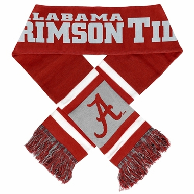 Alabama Crimson Tide 2012 Team Stripe Knit Scarf