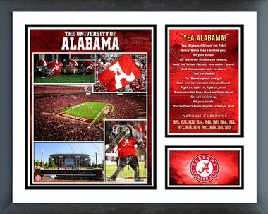 Alabama Crimson Tide Milestone & Memories - 15 National Championships