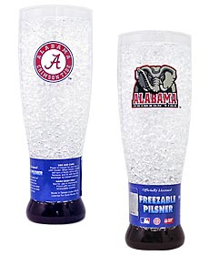 Alabama Crimson Tide Crystal Pilsner Glass