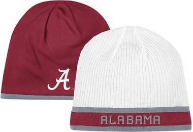 Alabama Cuffless Reversible Player Knit Hat