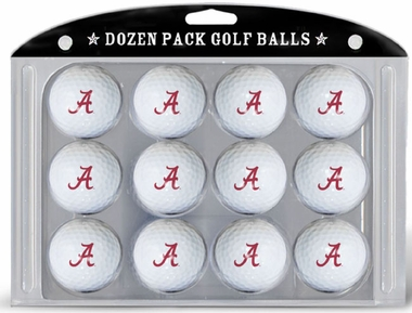 Alabama Dozen Golf Balls