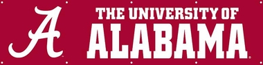 Alabama Eight Foot Banner