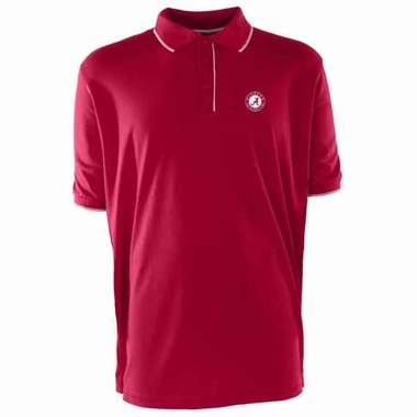 Alabama Mens Elite Polo Shirt (Team Color: Maroon)