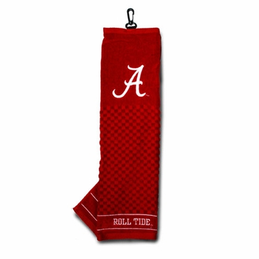 Alabama Embroidered Golf Towel
