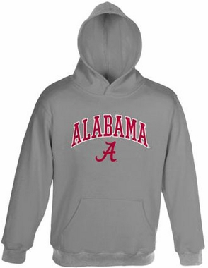Alabama Embroidered Hooded Sweatshirt (Grey)