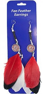 Alabama Feather Earrings