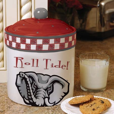 Alabama Gameday Ceramic Cookie Jar