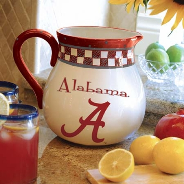 Alabama Gameday Ceramic Pitcher