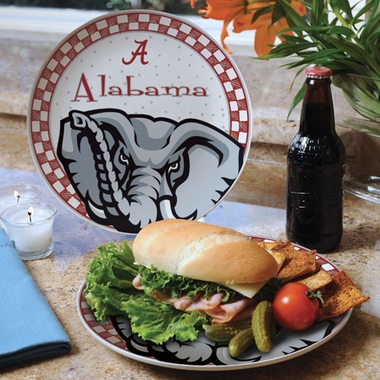 Alabama Gameday Ceramic Plate