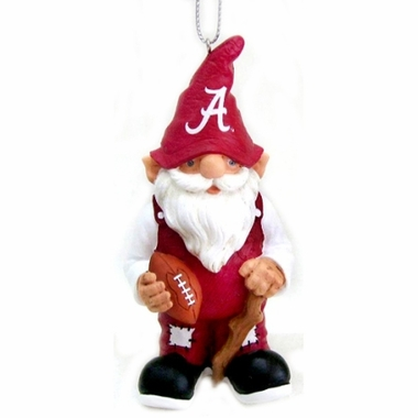 Alabama Gnome Christmas Ornament