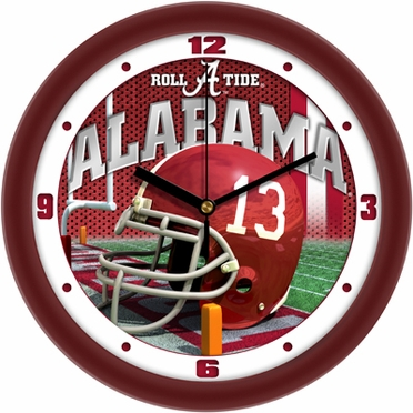 Alabama Helmet Wall Clock
