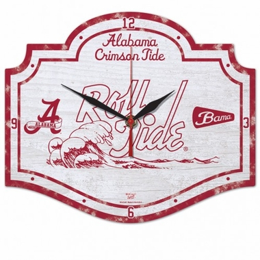 Alabama High Definition Wall Clock