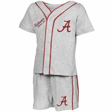 Alabama Infant Batter Up Shirt & Shorts Set