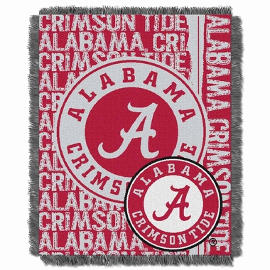 Alabama Jacquard Woven Throw Blanket