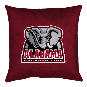 Alabama Jersey Material Toss Pillow
