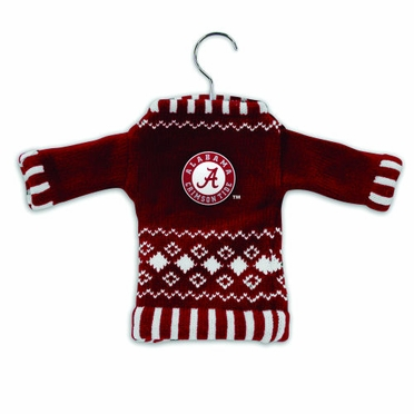 Alabama Knit Sweater Ornament (Set of 3)