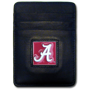 Alabama Leather Money Clip (F)