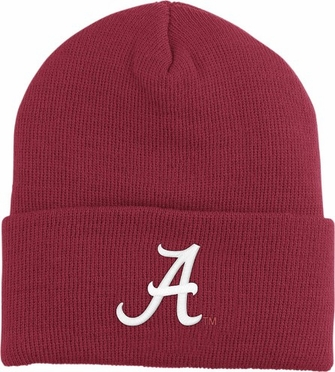 Alabama Logo Knit Ski Cap