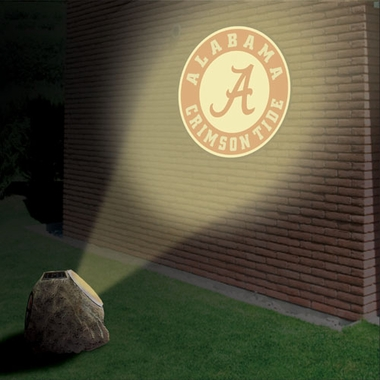 Alabama Logo Projection Rock