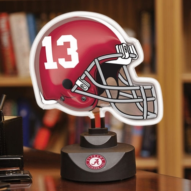 Alabama Neon Display Helmet