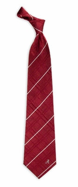 Alabama Oxford Stripe Woven Silk Necktie