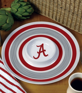 Alabama Plastic Chip and Dip Plate