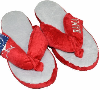 Alabama Plush Thong Slippers