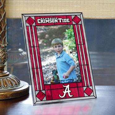 Alabama Portrait Art Glass Picture Frame