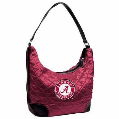 Alabama Quilted Hobo Purse