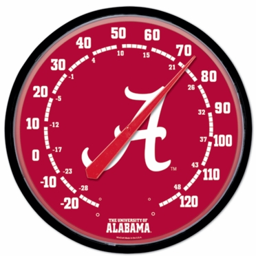 Alabama Round Wall Thermometer