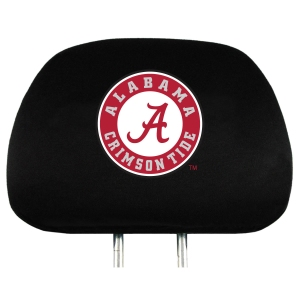 Alabama Set of 2 Headrest Covers