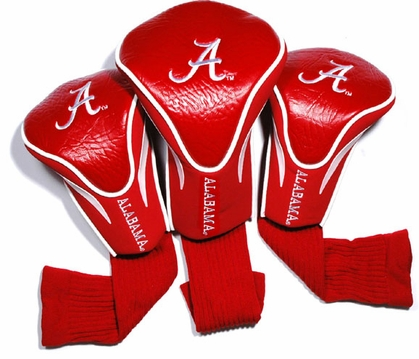Alabama Set of Three Contour Headcovers