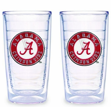 Alabama Set of TWO 16 oz. Tervis Tumblers