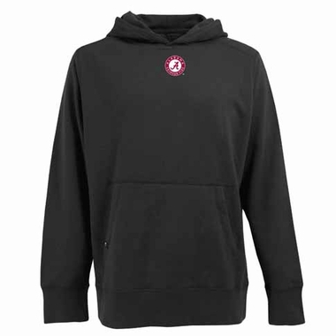Alabama Mens Signature Hooded Sweatshirt (Color: Black)