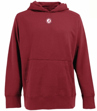 Alabama Mens Signature Hooded Sweatshirt (Color: Maroon)
