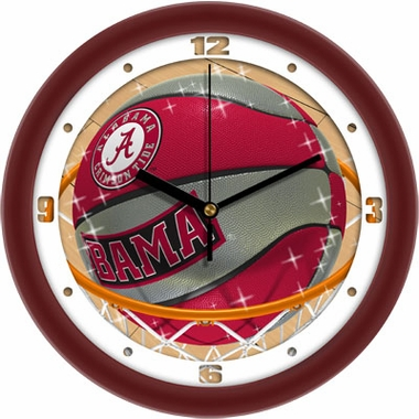 Alabama Slam Dunk Wall Clock