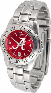 Alabama Sport Anonized Women's Steel Band Watch