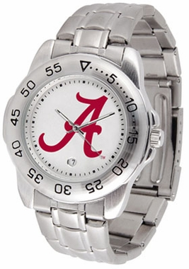 Alabama Sport Men's Steel Band Watch