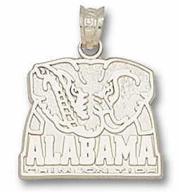 Alabama Sterling Silver Pendant