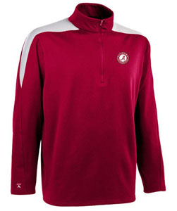 Alabama Mens Succeed 1/4 Zip Performance Pullover (Team Color: Maroon) - Small