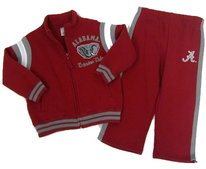 Alabama Toddler Jacket and Pants Set - 3T