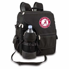 Alabama Turismo Embroidered Backpack (Black)