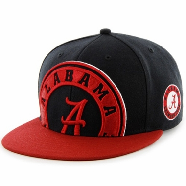 Alabama Two Tone Colossal Snap Back Hat