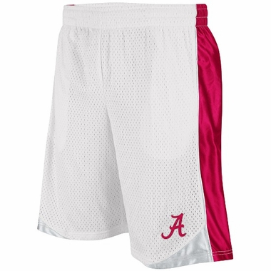 Alabama Vector Performance Shorts (White)