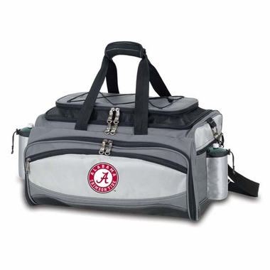 Alabama Vulcan Embroidered Tailgate Cooler (Black)